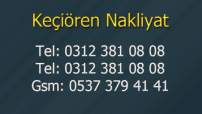 KEÇİÖREN NAKLİYAT