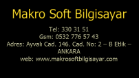 MAKROSOFT BİLGİSAYAR