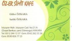 ERYAMANDA SİMİT CAFE